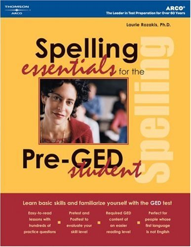 Spelling Essentials for Pre-GED Student 9780768912456