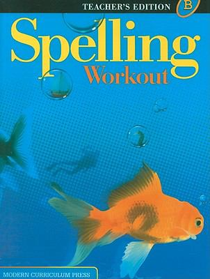 Spelling Workout, Level B 9780765224897