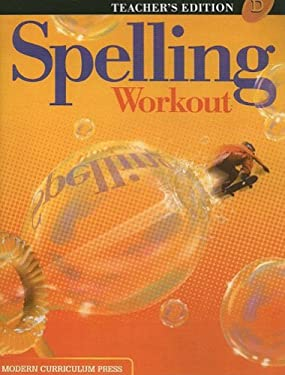 Spelling Workout, Level D 9780765224910