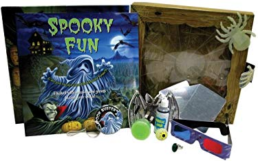 Spooky Fun [With Adventure BookWith Glow-In-The Dark Spider & Eyeball and Magic Ring, Slime, Decoder, Dragon's 9780764193422