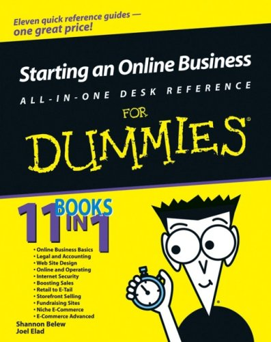 Starting an Online Business All-In-One Desk Reference for Dummies 9780764599293