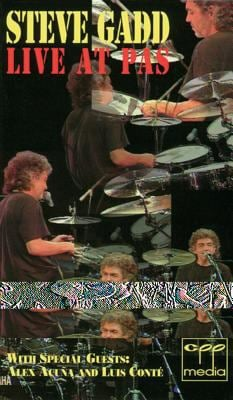 Steve Gadd -- Live at Pas: With Special Guests Alex Acua and Luis Conte, Video 9780769298429