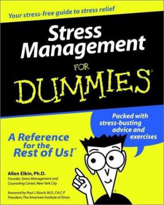 Stress Management for Dummies. 9780764551444