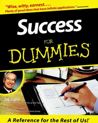 Success for Dummies 9780764550614