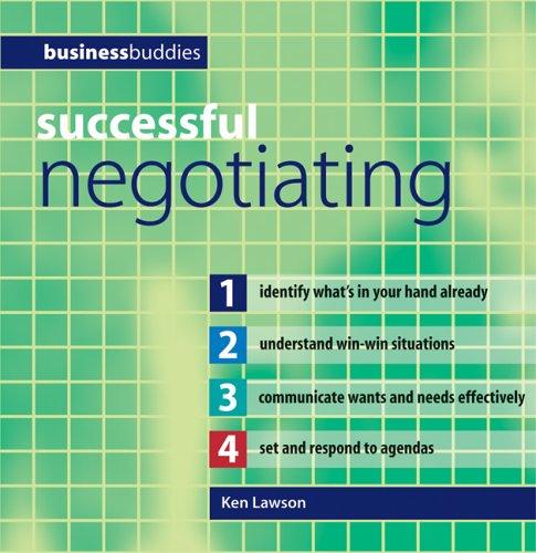 Successful Negotiating 9780764132452