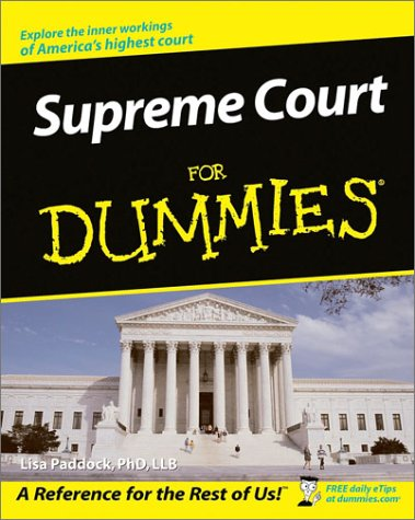 Supreme Court for Dummies 9780764508868