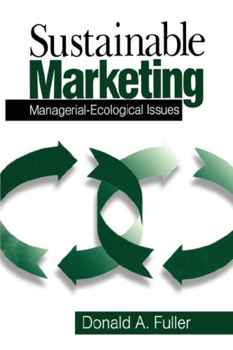 Sustainable Marketing: Managerial - Ecological Issues 9780761912187