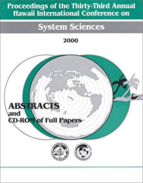 System Sciences (Hicss2000) Abstracts Proceedings 33rd Hawaii International Conference 9780769504933