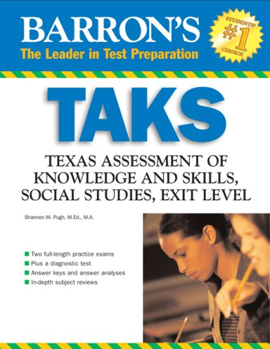 TAKS: Texas Assessment of Knowledge and Skills Social Studies Exit Exam 9780764136191