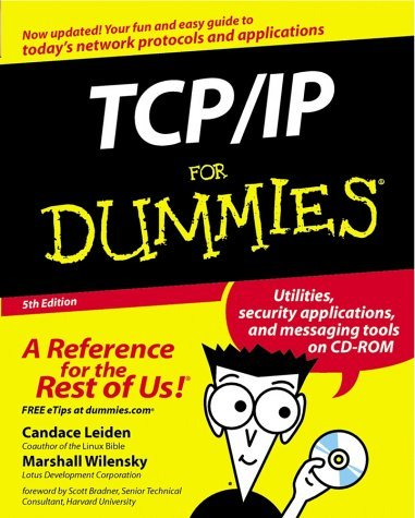 TCP/IP for Dummies [With CDROM] 9780764517600