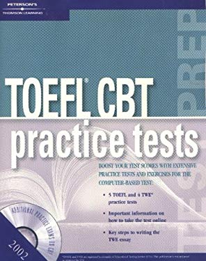TOEFL CBT Practice Tests W/CD 2002 [With CD] 9780768907773