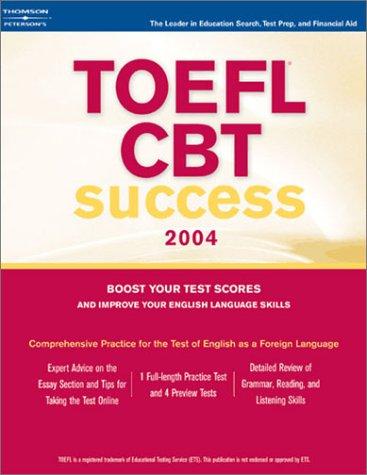 TOEFL CBT Success 9780768912289