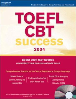 TOEFL CBT Success [With 4 CDs] 9780768913071