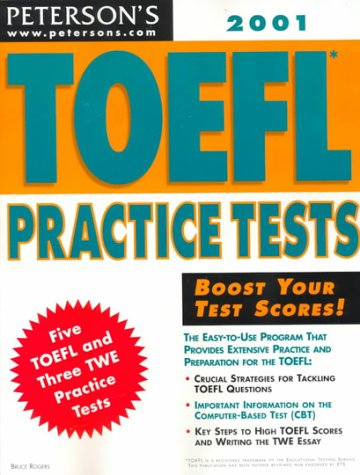 TOEFL Practice Tests 9780768905281