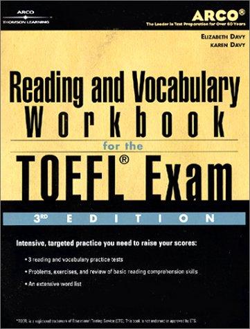 TOEFL Reading Vocab Wkbk 3/E 9780768907834