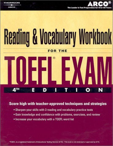 TOEFL Reading Vocab Wkbk 4/E 9780768909760