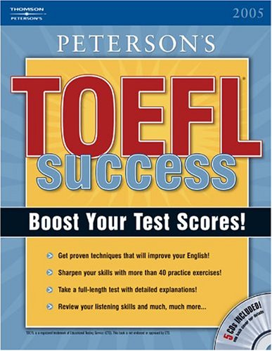 TOEFL Success CBT 2005 [With CDROM] 9780768914917