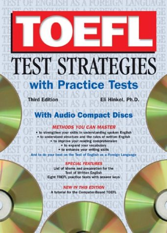 TOEFL Test Strategies with Practice Tests with Audio CDs [With Practice Tests and CD] 9780764177453