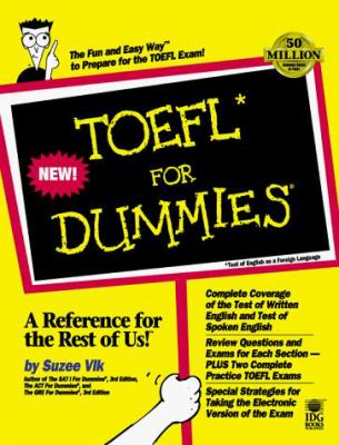 TOEFL for Dummies [With *] 9780764551222