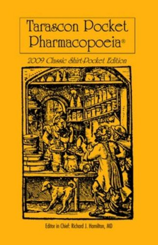 Tarascon Pocket Pharmacopoeia 9780763765729