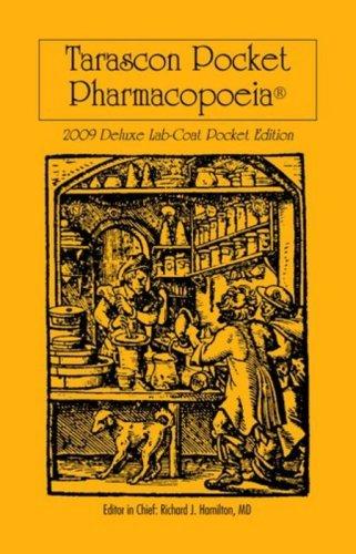 Tarascon Pocket Pharmacopoeia 9780763765736