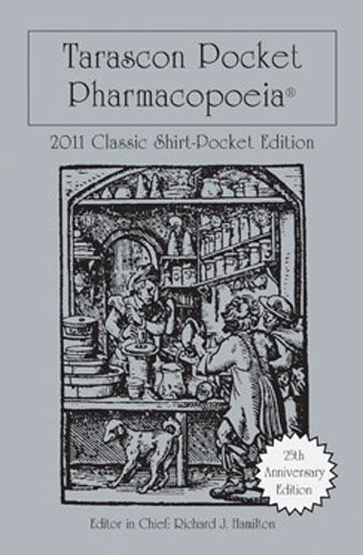 Tarascon Pocket Pharmacopoeia 9780763793050