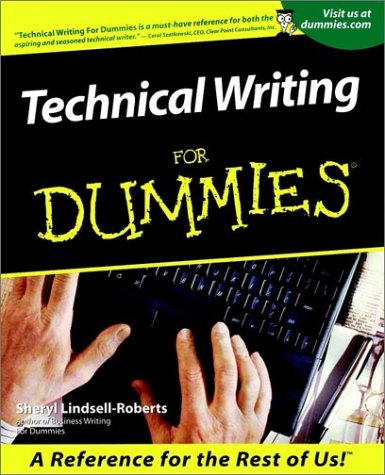 Technical Writing for Dummies. 9780764553080