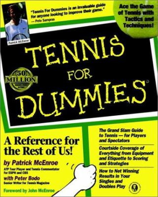 Tennis for Dummies 9780764550874