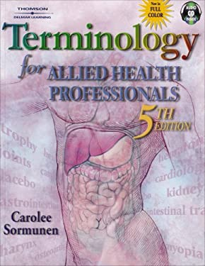 Terminology for Allied Health Professionals [With CDROM] 9780766862920