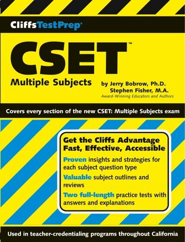 Test Prep CSET: Multiple Subjects 9780764539831