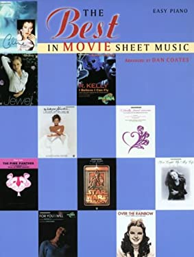 The Best in Movie Sheet Music 9780769214207
