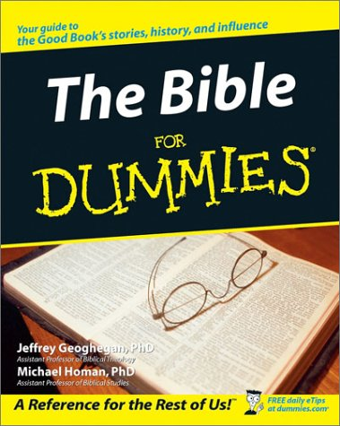 The Bible for Dummies 9780764552960