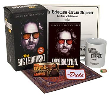 The Big Lebowski Kit: The Dude Abides [With Mousepad, Bowling Shirt Patch, Certificate and Mug and Magnet(s)] 9780762439003