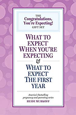 The Congratulations, You're Expecting! Gift Set: What to Expect When You're Expecting & What to Expect the First Year