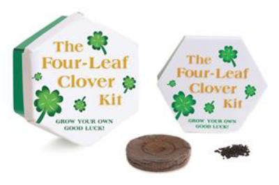 The Four Leaf Clover Kit [With Seeds & a Pot]