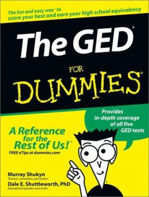 The GED for Dummies 9780764554704