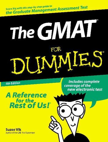 The GMAT for Dummies 9780764552519
