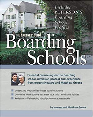 The Greenes' Guide to Boarding Schools 9780768922417