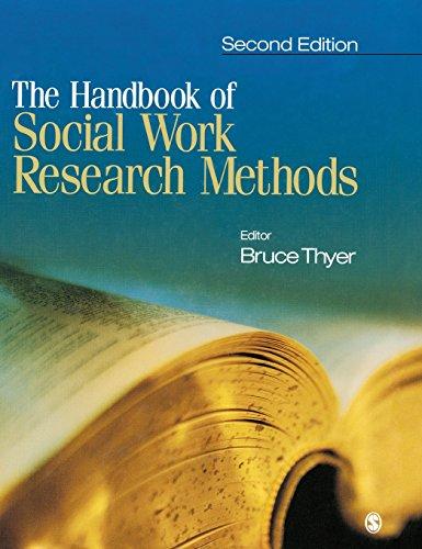 The Handbook of Social Work Research Methods 9780761919056