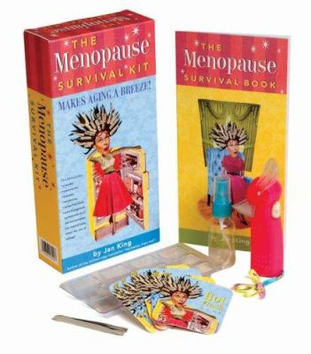 The Menopause Survival Kit: Makes Aging a Breeze! [With 12 Hot Flash CardsWith Fan, Tweezers, Ice Cube Tray, Hand Mister] 9780762432226