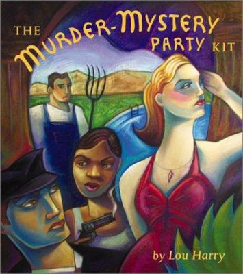 The Murder-Mystery Party Kit [With Six Nametag Stickers, Booklets] 9780762413744