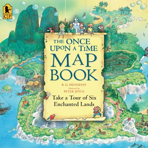 The Once Upon a Time Map Book 9780763626822
