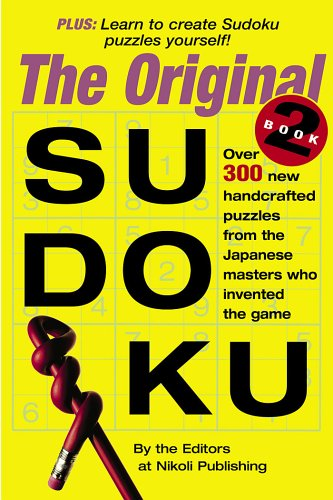 The Original Sudoku Book 2 9780761142966