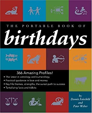 The Portable Book of Birthdays 9780762415496