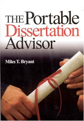 The Portable Dissertation Advisor 9780761946960