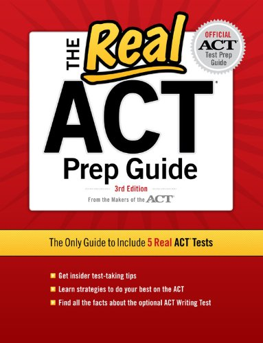 The Real ACT Prep Guide 9780768934328