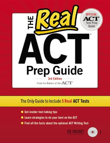 The Real ACT Prep Guide [With CDROM] 9780768934403