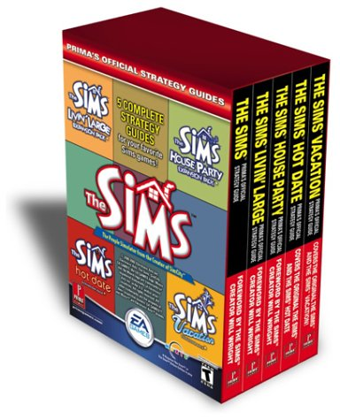 The Sims Box Set 1 Thru 5: Prima's Official Strategy Guide 9780761541387