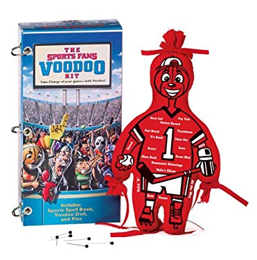 The Sports Fan Voodoo Kit: Take Charge of the Game--With Voodoo! [With Voodoo Doll and Pins and Sports Fan Voodoo Handbook] 9780762424511