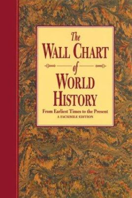The Wallchart of World History (Revised): From Earliest Times to the Present - A Facsimile Edition 9780760709702